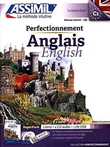 Pack Perfectionnement Anglais (1 livre + CD audio MP3)