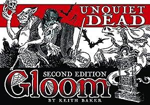 Atlas Games atg01355-Tarjeta Juegos, GLOOM, unquiet Dead, 2nd Edition , Modelos/colores Surtidos, 1 Unidad
