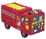 Unique Party -  Piñata Camión de Bomberos (6606)