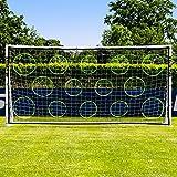 Net World Sports Mur de Tir pour des Buts de Foot | Équipement d'Entraînement de Football (3m x 2m)