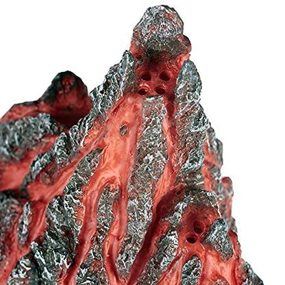 Pet Ting Volcano Cave Aquatic Ornament - Aquarium Decoration - Vivarium Decoration 5