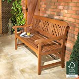 Robert Dyas FSC 3-Seater Fence Bench