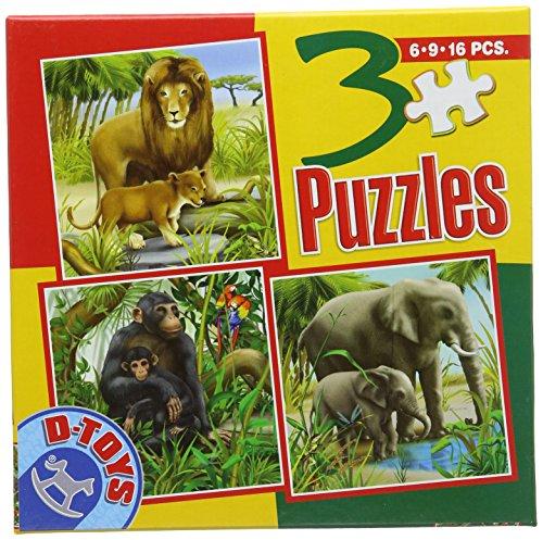 D-Toys - Rompecabezas, 16 Piezas (DT60150-AL-04)