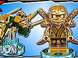 Clip: Ninjago Lloyd Golden Ninja & Dragon Fun Pack 3-in-1