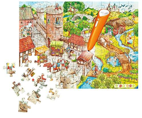 Ravensburger-00516-tiptoi-Puzzeln-Entdecken-Erleben-Die-Ritterburg