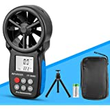 Handheld Windmeter Digitale Anemometer INFURIDER YF-866B Draagbare Windsnelheidsmeter,Windsnelheid/Windtemperatuur Meten met
