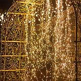 2 Meter Multi Strand Lichterkette Plug In LED Leuchtkäfer Schnur-Licht Dekoratives Bündel-Weihnachtsinnenlicht Für Home Party Urlaub Weihnachtsbaum Dekor (14 Strip 280 LEDs)