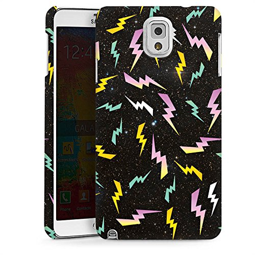 DeinDesign Samsung Galaxy Note 3 Hülle Premium Case Cover Bolt Pattern Muster Pattern -