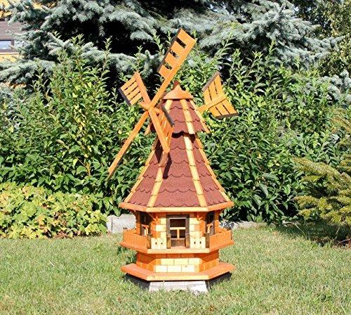 Dekorative Windmühle, rot Typ 4