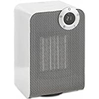 VonHaus Oscillating Ceramic Fan Heater 1800W – PTC Heat Technology with Count Down Timer, 2 Heat Settings, Temperature Adjustment & LED Display