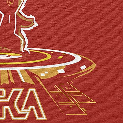 TEXLAB - Pikatron - Herren T-Shirt Rot