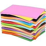Papier A4 coloré 200 feuilles Carte colorée A4 Pack Papier arc-en-ciel assorti Papier couleur A4 Papier couleur A4 Papier imp