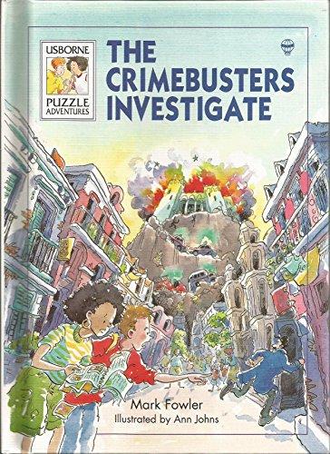 The Crimebusters Investigate (Usborne Puzzle Adventures, 25) - Adventures Usborne Puzzle
