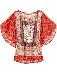 Promod Bluse im Hippie-Stil