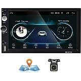 Android Autoradio 2 Din GPS CAMECHO Touchscreen capacitivo da 7 pollici Bluetooth WIFI USB SD AUX FM Car Player…