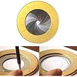 Gelentea Houtbewerking Tekening Tool, Flexibele Cirkel Tekening Tool Rotary Verstelbare Kleine Draagbare voor Designer Houtbe