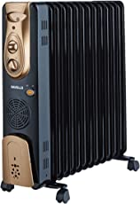 Havells OFR - 13Fin 2900-Watt PTC Fan Heater (Black)