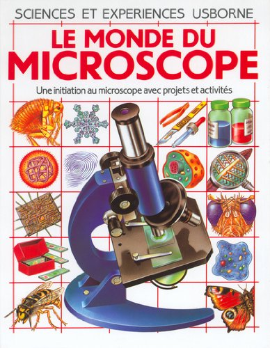 Le monde du microscope par Collectif