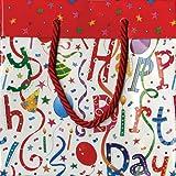 Caspari Inc. Geschenktüte, Geburtstagsmotiv, aus Papier, klein