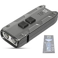 NITECORE TIP SE Torcia Portachiavi Ricaricabile USB-C 700 lumen Mini Torcia a LED Impermeabile IP54 Peso di 26g…