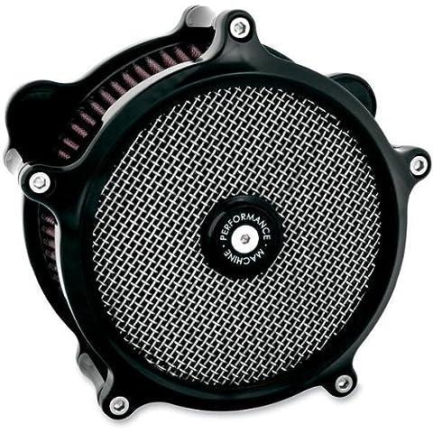 Performance Machine Super Gas Filtro de aire negro (Harley Davidson XL1991-2011)