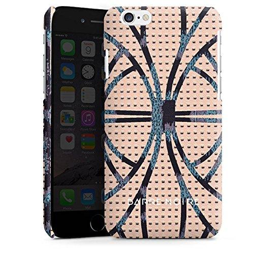 Apple iPhone 5 Housse étui coque protection Look cuir Leo BARRE NOIRE Cas Premium brillant