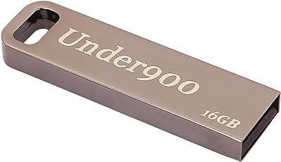 UNDER900 16 GB USB 2.0 Pen Drive(Steel Grey)