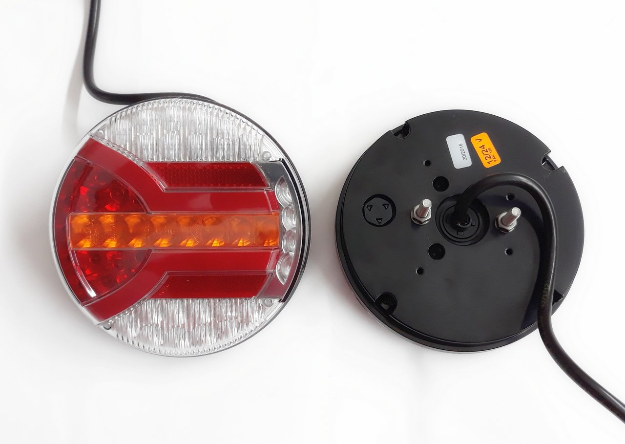 roulotte stop indicatori luci 12 V 40 LED 2 luci posteriori camion rimorchio per camion a telaio