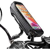 WACCET [Nouvelle génération Support Telephone Moto Imperméable Support Smartphone Moto Etanche avec Rotation 360…