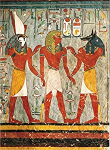 International Publishing 0801N24015b-Ramses III-On Knee In Front of The Gods, clásica Puzzles