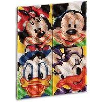 Quercetti 00807 - Gioco Pixel Art Mickey & Friends