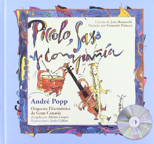 Piccolo, saxo y compania/ Piccolo, Sax, and Company (La Mota De Polvo/ the Dust Speck) por Andre Popp