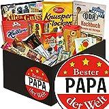 Bester Papa der Welt Geschenke | DDR Süßigkeiten Box | Süße Ostbox mit Viba, Halloren, Zetti und vielem mehr