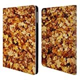 Head Case Designs Offizielle PLdesign Herbst Ahorn Blumen Und Blaetter Brieftasche Handyhülle aus Leder für iPad Air (2013)