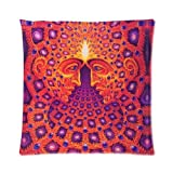 Lepilo Cool Alex Grey Visionary Painting Custom Pillowcase Pillow Cushion Case Cover Two Sides Printed 18x18 Inches