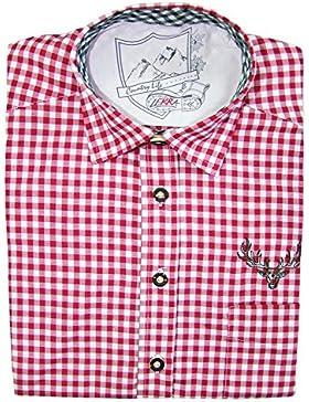 Karo Trachtenhemd Leopold Burgun