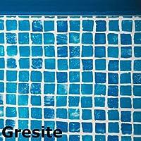 Gre FPR557 - Liner mosaicato 50/100 per piscina tonda Ø 550 h 132