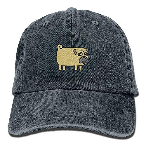I Like Big Pugs I Cannot Lie Unisex Adjustable Baseball Caps Denim Hats Cowboy Sport Outdoor