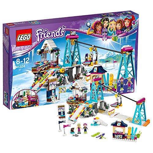 Preisvergleich Produktbild LEGO Friends 41324 - Skilift im Wintersportort