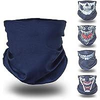 BlackNugget ® Bedrucktes Multifunktionstuch mit ausgefallenem Design - Hochwertige Sturmhaube als Wärm- und Schutztuch…