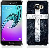 Coque Samsung Galaxy A5 (2016), Fubaoda Artistique Série Étui TPU silicone élégant et sobre pour Samsung Galaxy A5 (2016) (A510)