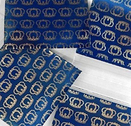 200–3,8x 3,8cm Gold Krone klein Kunststoff Ziploc Baggies