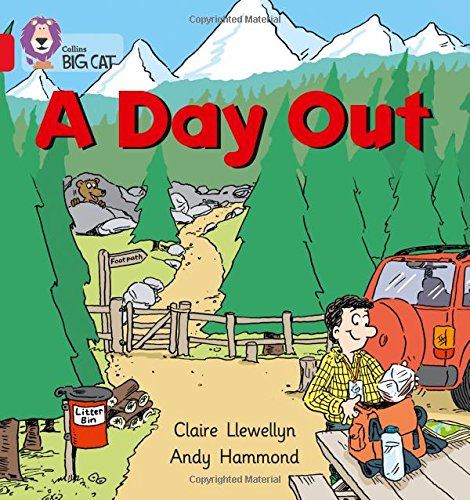 A Day Out: Band 02A/Red A (Collins Big Cat)