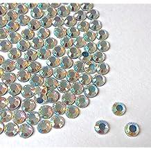 Mi Diamante Crystal AB dimensioni 4mm Hotfix strass con retro