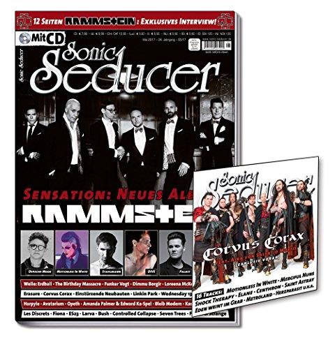 Sonic Seducer 05-2017 mit 12 Seiten Rammstein Titelstory und exkl. Interview zur Sensation: Neues Rammstein Album + CD, Bands: Depeche Mode, Welle: Erdball, Blutengel, Linkin Park u.v.m. (Live Depeche In Paris Mode)