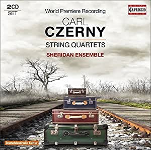 Czerny: String Quartets by Sheridan Ensemble (2015-04-14)
