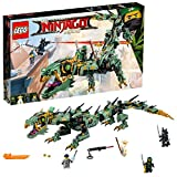#8: Lego Green Ninja Mech Dragon Building Sets