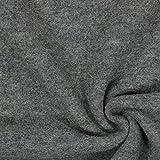 Fabulous Fabrics Walkloden – grau — Meterware ab 0,5m