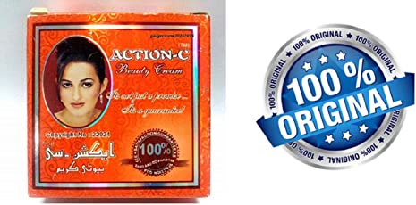 Action C Beauty Cream 100% Original Imported Pakistan Brand Cream