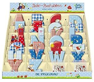 Die Spiegelburg Buchstaben Sparset Babyglück 5 Stück im Set I inkl. Geschenkverpackung